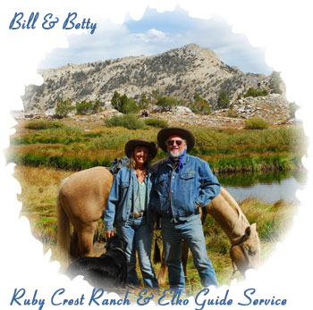 Bill & Betty of Elko GUide Service & Ruby Crest Ranch
